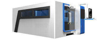 ประเทศจีน Sheet Metal Cutting Fiber Laser Cutting Machine With Laser Power 1000W ผู้ผลิต
