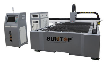 ประเทศจีน Stainless Steel Fiber Laser Cutting Machine With Laser Power 500 Watt ผู้ผลิต