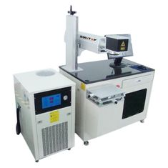 ประเทศจีน 200 Hz - 50 Khz Diode Laser Marking Machine For Vacuum Cup And Round Products ผู้ผลิต