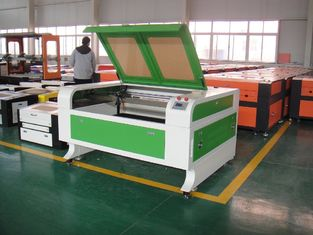ประเทศจีน 80W High Precision CO2 Laser Cutting and Engraving Machine , Laser Metal Engraver ผู้ผลิต
