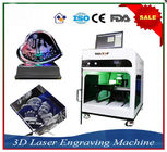 ประเทศจีน Laser Engraver Equipment 3D Crystal Laser Inner Engraving Machine บริษัท