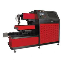 ประเทศจีน Small CNC Laser Cutter for Saw Blade , Ironware Cutting Gas Oxygen Nitrogen or Air โรงงาน