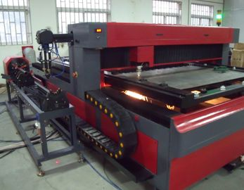 ประเทศจีน Metal Pipe and Round Tube 650 Watt  YAG Laser Cutting Machine for Metal Structure โรงงาน
