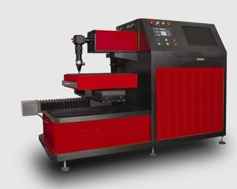 ประเทศจีน Small Breadth YAG Laser Cutter for Metal Laser Cutting Industry , Three Phase 380V / 50Hz ผู้จัดจำหน่าย