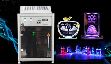 ประเทศจีน 4000HZ 3D Crystal Laser Inner Engraving Machine 220,000 dots / Minute Speed โรงงาน