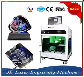 ประเทศจีน Laser Engraver Equipment 3D Crystal Laser Inner Engraving Machine โรงงาน